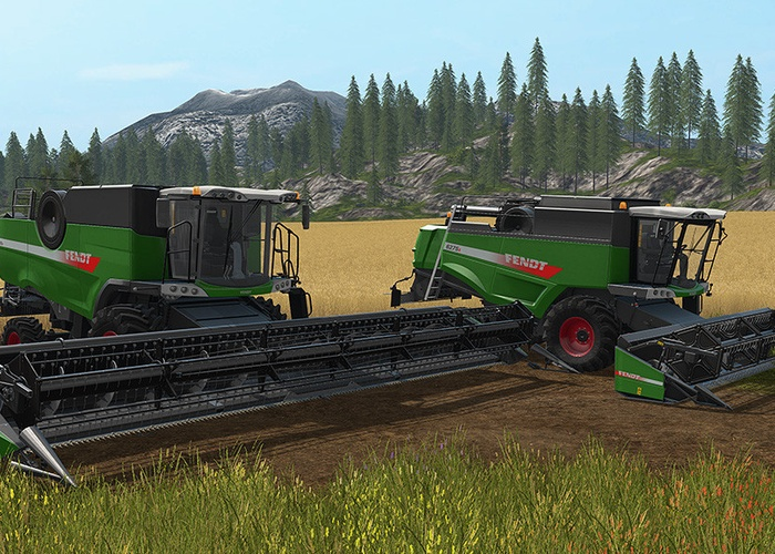Fendt Harvester Pack