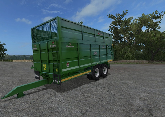 Broughan Engineering Broughan 18F Silage Trailer