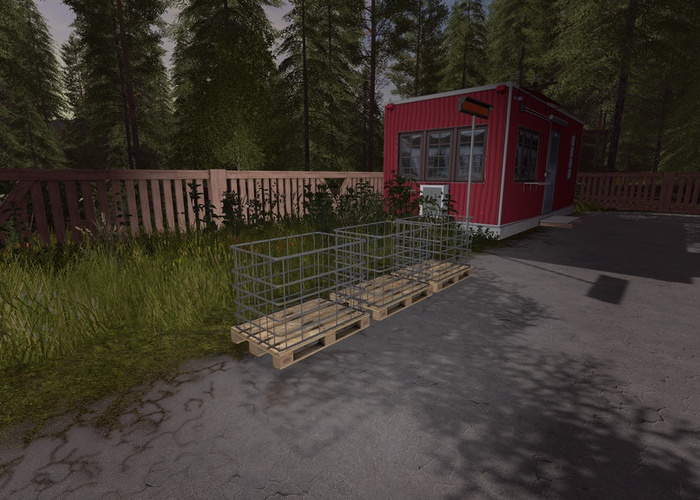 Lizard Lattice Box (Prefab*)