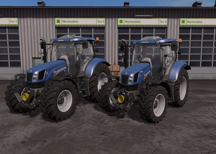 New Holland T6 Tier4a