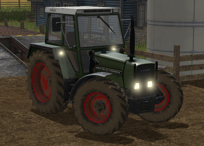 Fendt Farmer 307/309 LSA Turbomatics