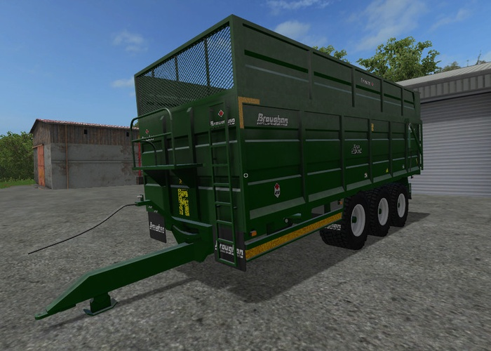Broughan 22F Silage Trailer