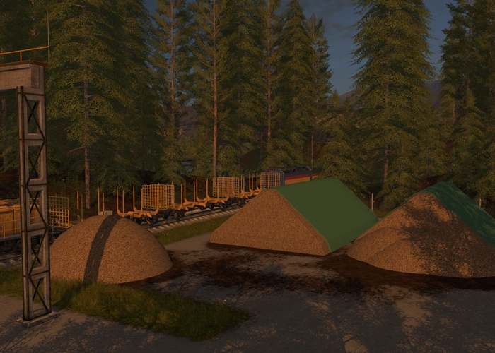 Lizard Woodchip Heap (Prefab*)