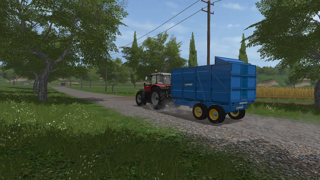 WEST West 10t Silage Trailer