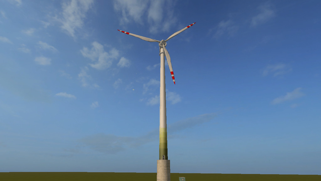Lizard Wind Turbine 110m (Prefab*)